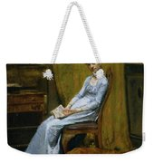 The Artist's Wife And His Setter Dog Weekender Tote Bag