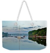 The Bass River At Dawn, Beverly Ma Weekender Tote Bag