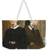 The Bellelli Sisters Weekender Tote Bag