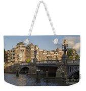 The Bridges Of Amsterdam Weekender Tote Bag