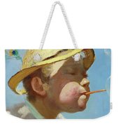The Bubble Boy Weekender Tote Bag