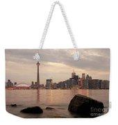 The City Of Toronto Weekender Tote Bag