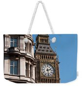 The Clock Tower In London Weekender Tote Bag