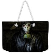 The Gas Mask Man Weekender Tote Bag