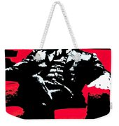 The Godfather Weekender Tote Bag by Luis Ludzska