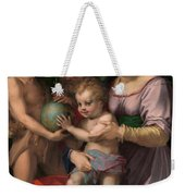 The Holy Family With The Young Saint John The Baptist Weekender Tote Bag