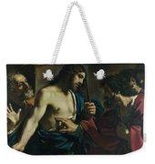 The Incredulity Of Saint Thomas Weekender Tote Bag