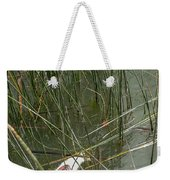 The Lodge At Blue Lakes Decaying Fish Weekender Tote Bag
