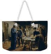 The Mealtime Prayer Weekender Tote Bag
