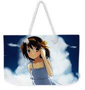 The Melancholy Of Haruhi Suzumiya Weekender Tote Bag