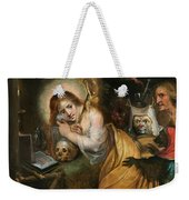 The Penitent Mary Magdalene Visited By The Seven Deadly Sins Weekender Tote Bag