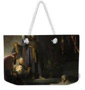 The Raising Of Lazarus Weekender Tote Bag