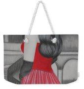 The Red Dress Weekender Tote Bag
