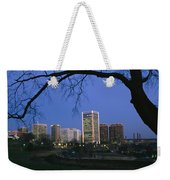 The Richmond, Virginia Skyline Weekender Tote Bag