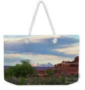 The Shining Mountains Weekender Tote Bag