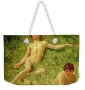 The Sunbathers Weekender Tote Bag