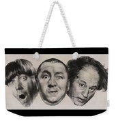 The Three Stooges Hollywood Legends Weekender Tote Bag