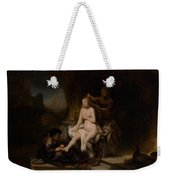 The Toilet Of Bathsheba Weekender Tote Bag