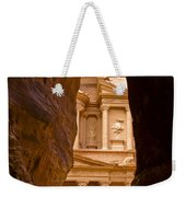 The Treasury Of Petra Weekender Tote Bag