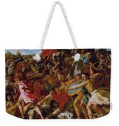 The Victory Of Joshua Over The Amalekites Weekender Tote Bag