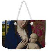 The Virgin And Child Weekender Tote Bag