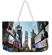 Times Square New York City Weekender Tote Bag