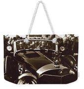 Tom Barrett And Family  High Bidder  Earl Clark At $153,000 Of Adolf Hitlers Mercedes Benz 770k Weekender Tote Bag