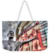 Tony Adams Statue Emirates Stadium Weekender Tote Bag