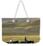 Trail Ride Weekender Tote Bag