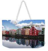 Trondheim Coastal View Weekender Tote Bag