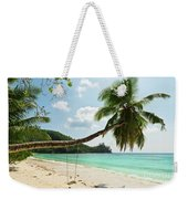 Tropical Beach At Mahe Island Seychelles Weekender Tote Bag