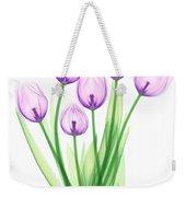 Tulips, X-ray Weekender Tote Bag