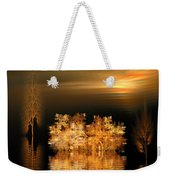 Twilight On The Bayou Weekender Tote Bag