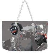 Two Yaqui Pascola Dancers Gallery In The Sun Tucson Arizona 1969-2013 Weekender Tote Bag
