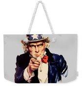 Uncle Sam Weekender Tote Bag