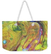 Upside Down Jellyfish And The Chicken Close Up Weekender Tote Bag