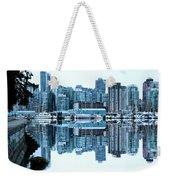 Vancouver Skyline Canada Weekender Tote Bag