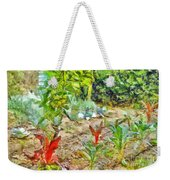 Vegetable Garden Weekender Tote Bag