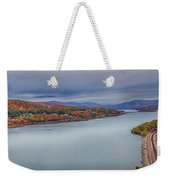 View From The Bear Mountain Bridge Weekender Tote Bag