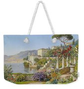 View Of A Lake In The South Weekender Tote Bag