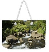 View Of Iao Needle Weekender Tote Bag
