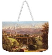 views of Bern and the Bernese Oberland Weekender Tote Bag