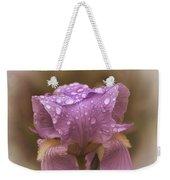 Vintage Iris Weekender Tote Bag