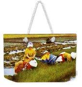 Vintage Japanese Art Weekender Tote Bag