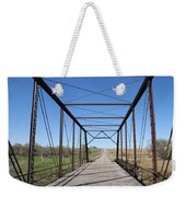 Vintage Steel Girder Bridge Weekender Tote Bag