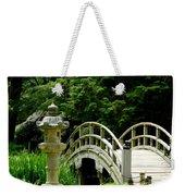 Virginia Bridges -japanese Garden Weekender Tote Bag