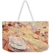 Wash 3 Color In Valley Of Fire Weekender Tote Bag