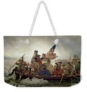 Washington Crossing The Delaware River Weekender Tote Bag