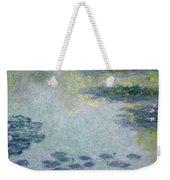 Waterlilies Weekender Tote Bag by Claude Monet
