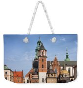 Wawel Cathedral In Krakow Weekender Tote Bag